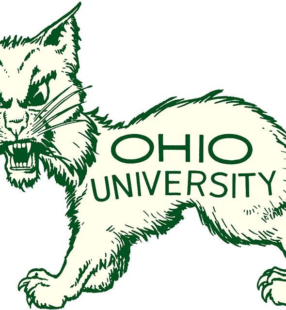 Bobcat-Weinlese Buckeye-Zustand Ohio-Universität von hilda74