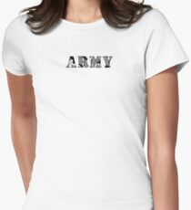 ARMY Women's Fitted T-Shirt