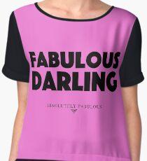 Absolutely Fabulous - Fabulous Darling Chiffon Top