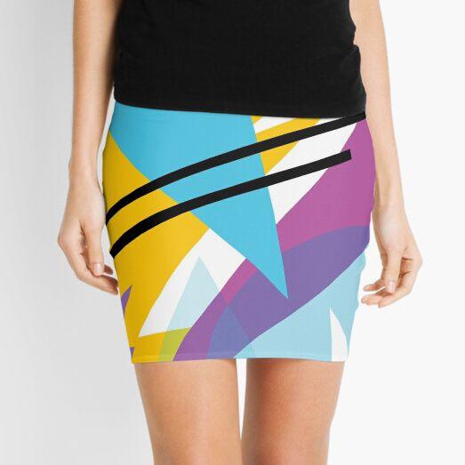 80s Style Retro Fashion Mini Skirt