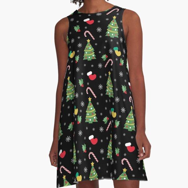 CHRISTMAS A-Line Dress