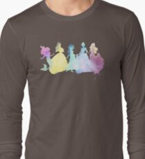 The Colors of the Princesses Long Sleeve T-Shirt