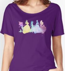 The Colors of the Princesses Women's Relaxed Fit T-Shirt