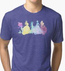 The Colors of the Princesses Tri-blend T-Shirt