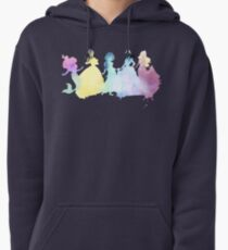 The Colors of the Princesses Pullover Hoodie
