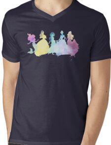 The Colors of the Princesses Mens V-Neck T-Shirt