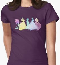 The Colors of the Princesses Womens Fitted T-Shirt