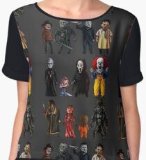 Icons of Horror Chiffon Top