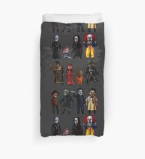 Icons of Horror Duvet Cover