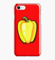 Yellow pepper iPhone Case/Skin