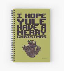 Ich hoffe, Weihnachten hat Frohe Weihnachten Spiralblock