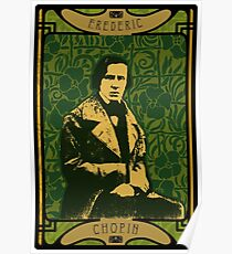 Frederic Chopin's Green Garden Poster
