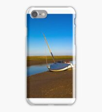 Boat at Blakeney iPhone Case/Skin
