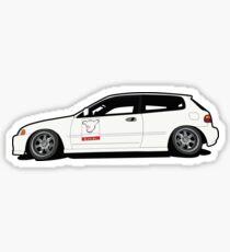 Civic EG Hatch Sticker