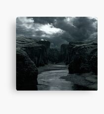 Swallow the Stream Canvas Print