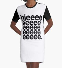 Alaska - Hieeee Graphic T-Shirt Dress