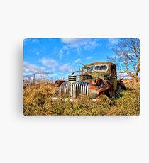 1940s Transport Canvas Print