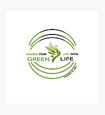 Greenlife company Photographic Print