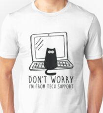 Camiseta ajustada Soy de soporte técnico