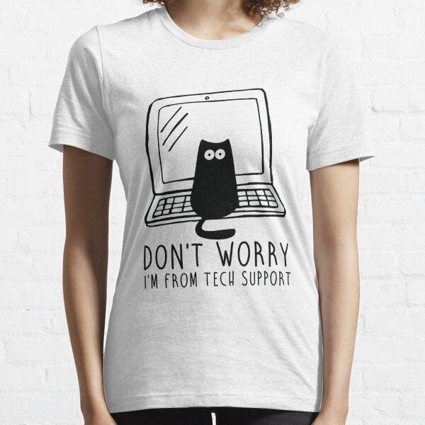 Soy de soporte técnico. Camiseta esencial