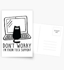 I'm from tech support Postcards
