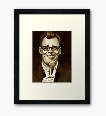 The Smartest Man In the World Framed Print