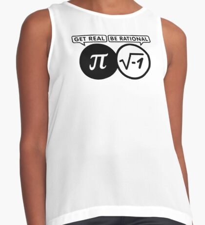 Get Real - Be Rational VRS2 Contrast Tank