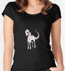 Reiner Skeleton Black Women's Fitted Scoop T-Shirt
