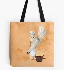 Ferret and Frosting Tote Bag