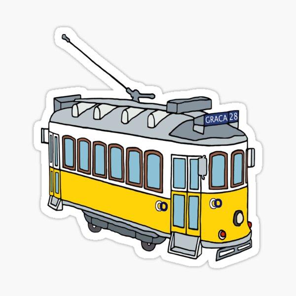 Hello from Lisbon Sticker