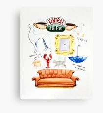 Friends TV Show Canvas Print