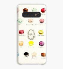 Funda/vinilo para Samsung Galaxy Menú del sabor de Ladurae Macarons