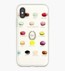 Laduree Macarons Flavor Menu iPhone Case