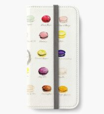 Laduree Macarons Flavor Menu iPhone Wallet/Case/Skin