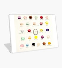 Laduree Macarons Flavor Menu Laptop Skin