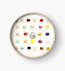 Laduree Macarons Geschmacksmenü Uhr
