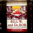 «Bill W. y Dr. Bob, estación de metro de Nueva York» de Ellen Turner