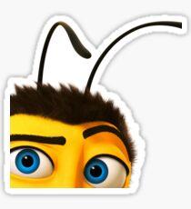 Bee Movie Script Meme Barry B Benson Meme Eyes Sticker