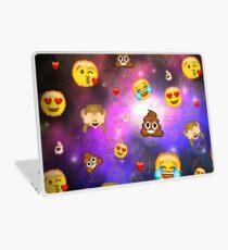 A Galaxy Of Emojis Laptop Skin
