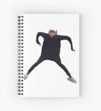 min noodle Spiral Notebook
