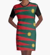 EDIEMAGIC Christmas 2016 Graphic T-Shirt Dress