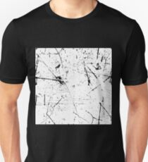 black and white punk grunge pattern T-Shirt