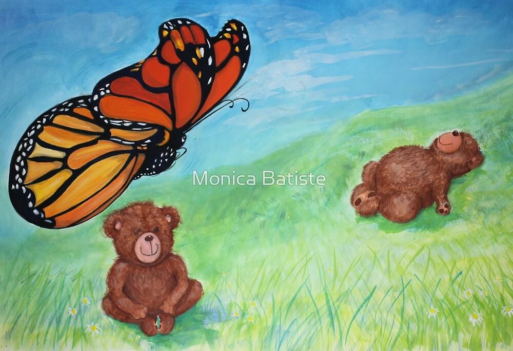 Butterfly Teddy by Monica Batiste