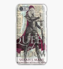 Queen of Shadows iPhone Case/Skin