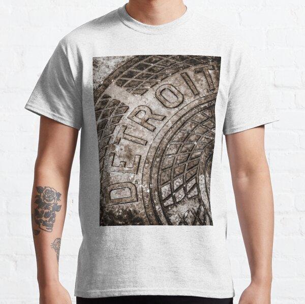 Detroit Manhole Cover Classic T-Shirt