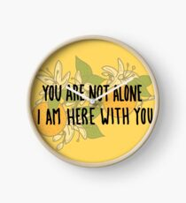 Here With You Clock