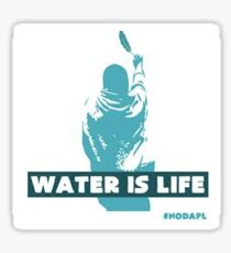 Water is life. Sticker