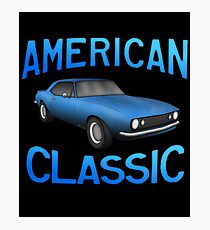 Classic American Muscle z28 Photographic Print