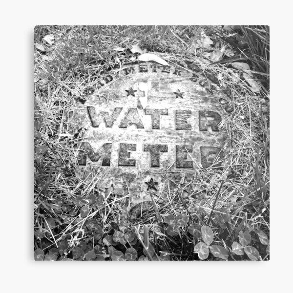 Water Meter Metal Print