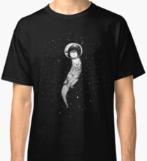 Drifting in Otter Space (best for color) Classic T-Shirt